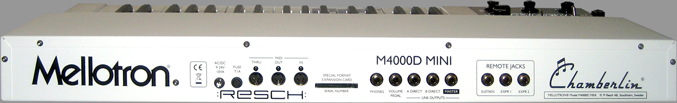 M4000D Mini Digital Mellotron